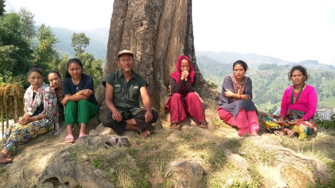 Pic of Nepali people - low